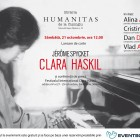 21.10.2017: double event dedicated to Clara Haskil in Bucharest – book launching and press conference