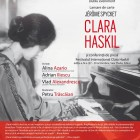 "SIBIU, 26.10.2017: book launching (""Clara Haskil"", by Jérôme Spycket) and press conference"